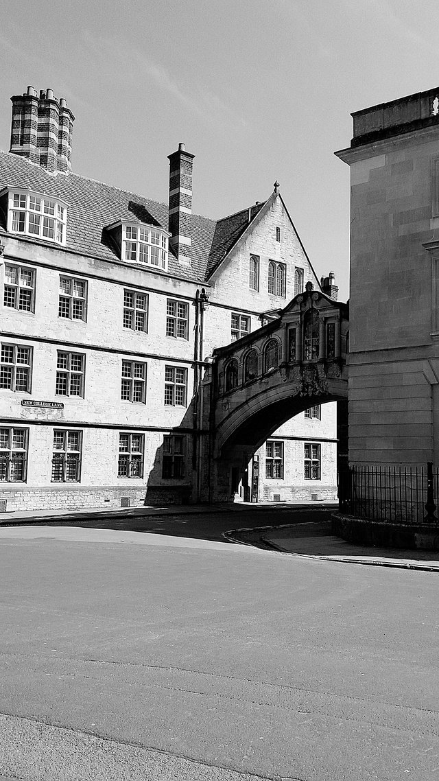 Le Bridge of Sighs au Hertford College